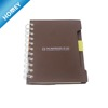 A6 spiral PP cover notebook with colored index tab divider