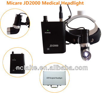 Hospital Clinic Use Micare JD2000II Operating LED Surgical Head Light