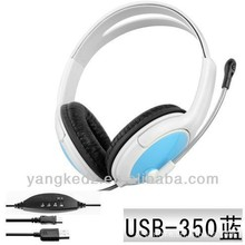 Unique Design USB Gaming Headset PS4 Stereo Headphone