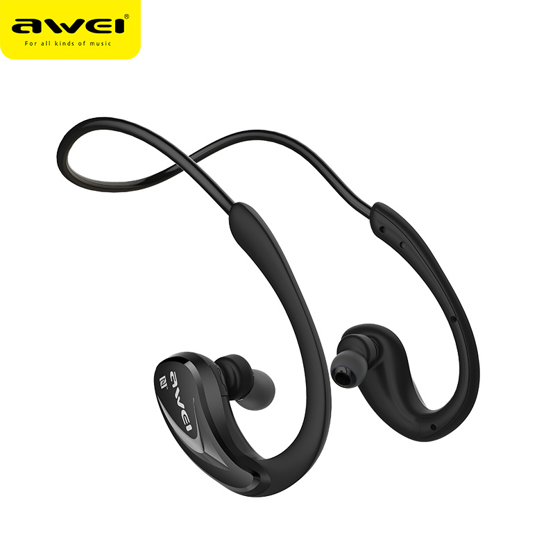 AWEI waterproof wireless sport earphone cheap price 2018 promotion new consumer <strong>electronics</strong>