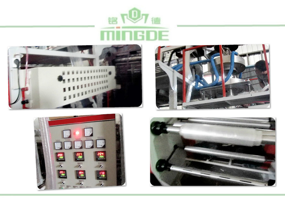Quality, professional manufacture plastic PP Film blowing machine