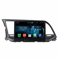 hot sale Android 7.1.2	HD capacitive screen car dvd player for Elantra 2016