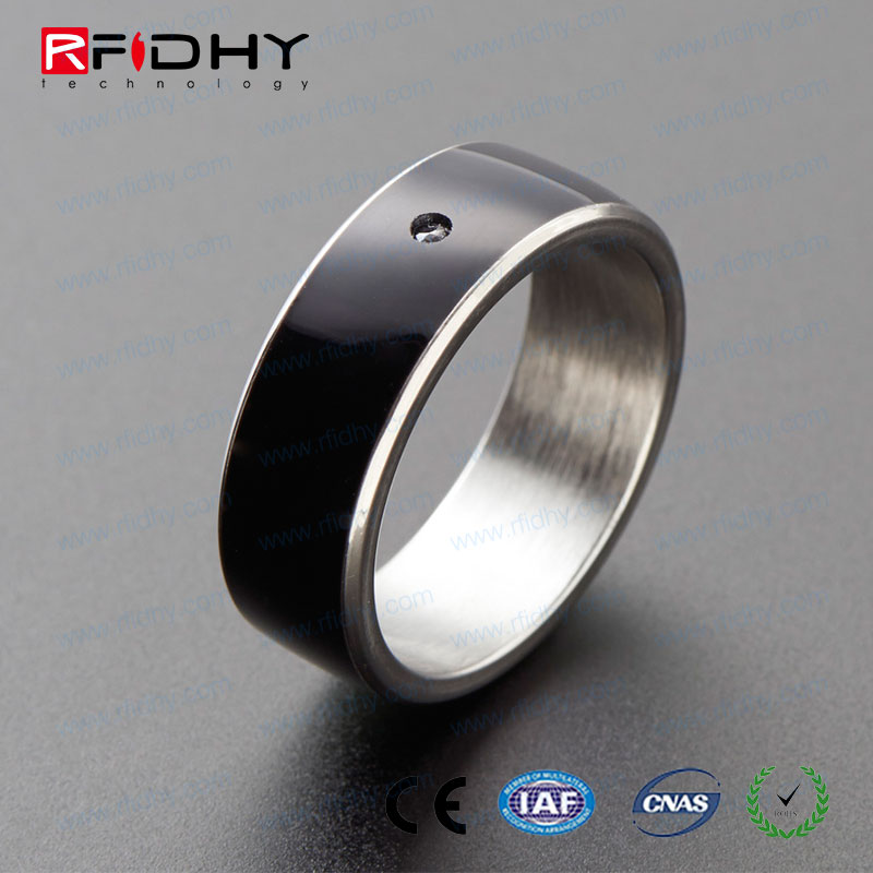 Hot Sale! 2017 Latest Ceramic NFC Smart Ring for Smart Phones