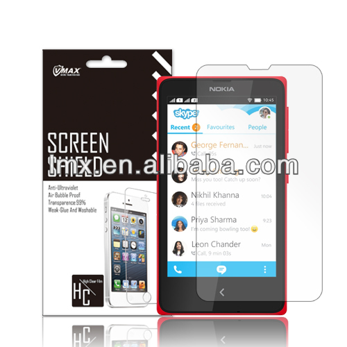 Latest best factory price screen protector for nokia asha 210 lumia 520/625/92/1520/1020