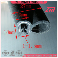 EPDM rubber windshield trim auto seal