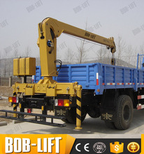 Hydra lorry crane for sale in india with nice crane price