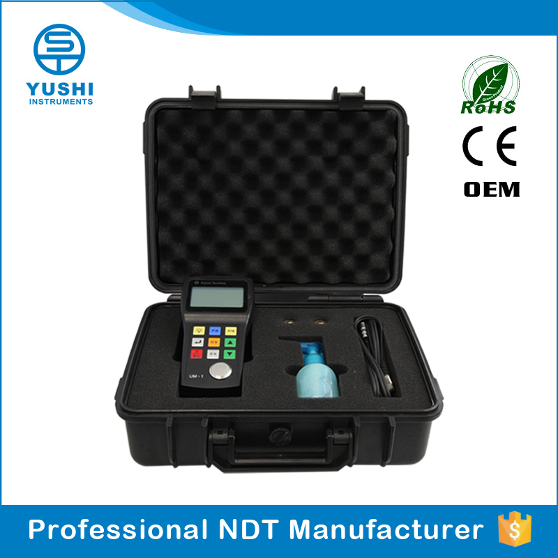 YUSHI UM-1 Chinese Measuring Range 0.1mm Mini steel plate thickness table