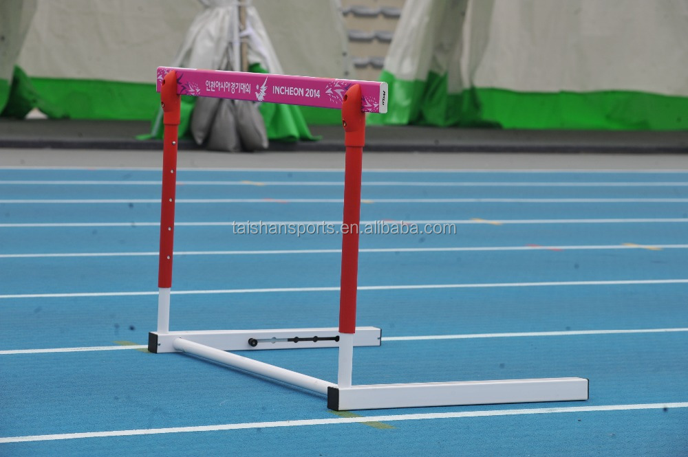 IAAF certification track and field equipment competition hurdle