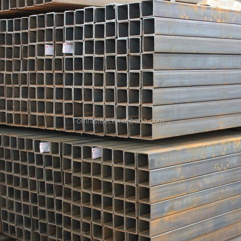 manufacture of galvanized steel material, square steel pipe/tubes/hollow section galvanized/black annealing