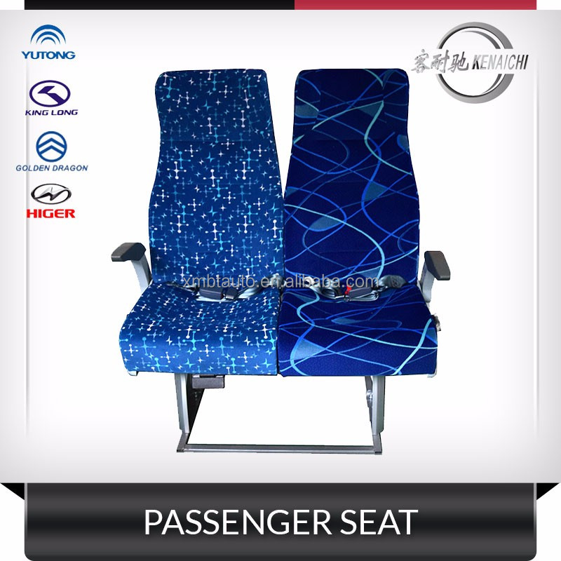 Hot sale! universal passenger bus seats for Kinglong Yutong blue