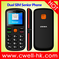 STOCK UNIWA V708 1.77 Inch Dual SIM Card Dual standby Big Button SOS Function Senior Phone