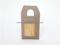 Scented Sachet With Wooden Charm In Flower Printing For Fresh Air