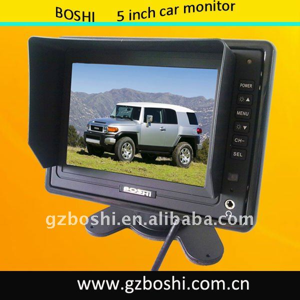 5 Inch Stand-Alone Monitor Digital Panel with sunshade