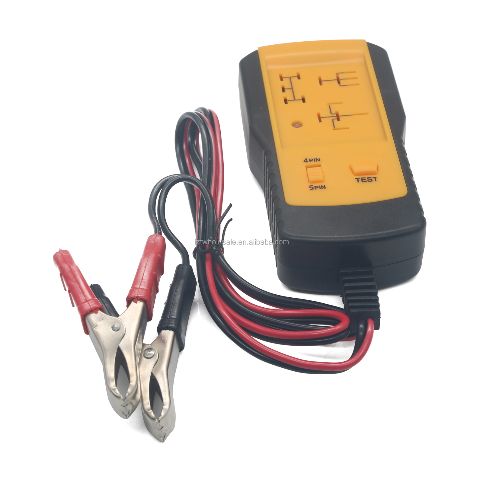 AE100 Electronic Automotive Relay Tester 12V Car Auto Battery Checker Universal