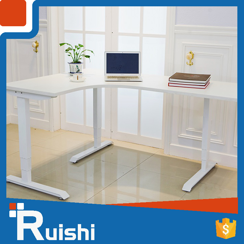 High Quality Electric Height Adjustable Office Standing 3-Leg Korean Furniture Tables
