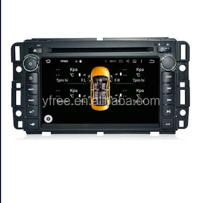 for GMC Acadia Tahoe Android car dvd players with GPS auto 2 din radio audio double din central multimedia stereo