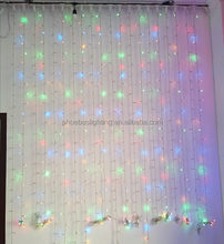 Multi color Led Curtain Light home decoration Icicle light Xmas Holiday Party light decoration