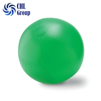 High quality custom promotional pvc inflatable big green beach ball