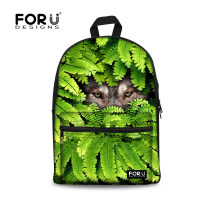 Personalized Wolf School Backpacks For Children,Men's Outdoor Travel Bags