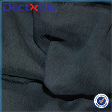 China production wrinkle black crinkle plane chiffon fabric