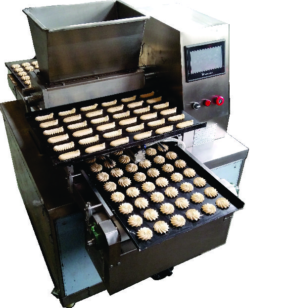 2018 China Latest Snacks Machinery For Making Cookies/Biscuits