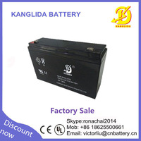 rechargeable lead acid battery 6v12ah children's toy car