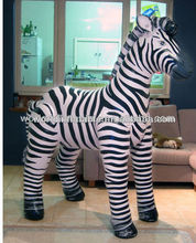 hot sale adertising inflatable zebra 1.5m high