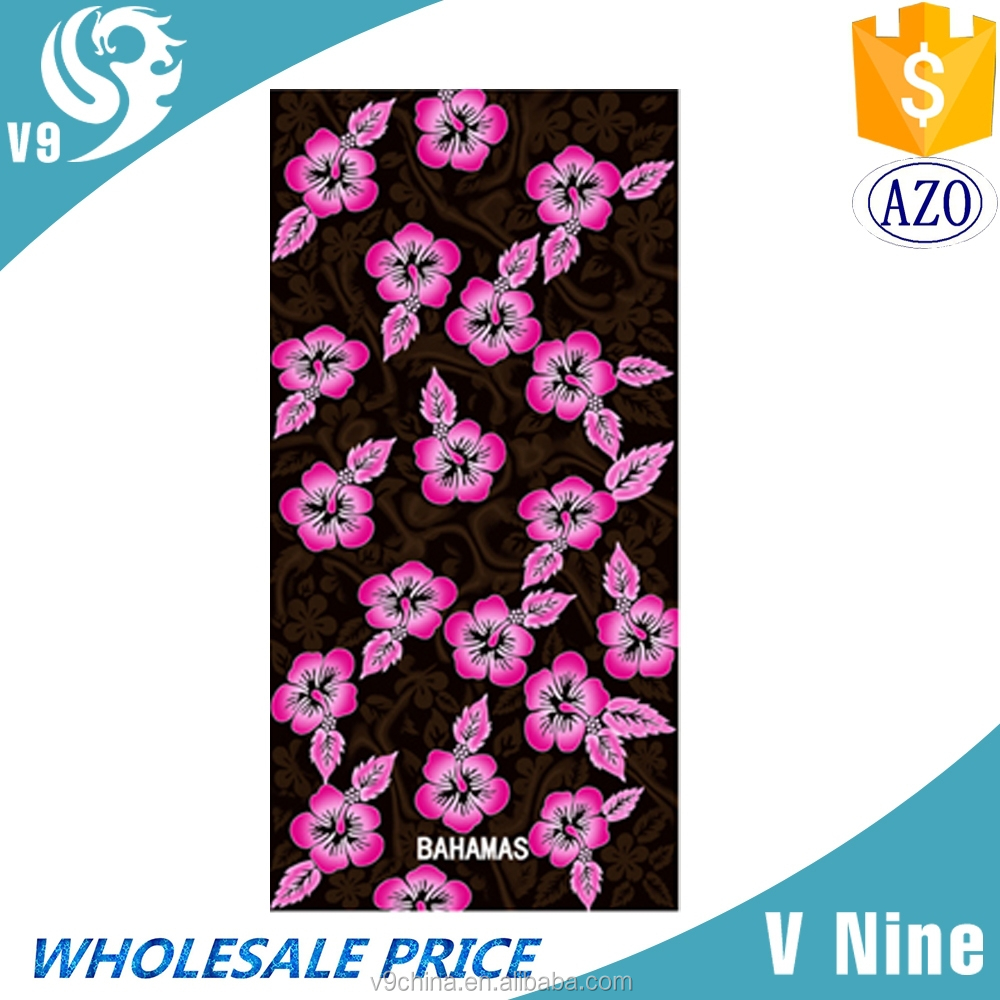 factory promotion 100% cotton velour reactive custom design printed beach towel rose flower shape towel cake