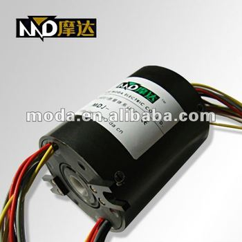 Competitive Price electrical MDH1254 through bore slip ring