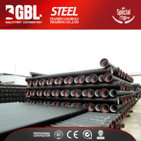 china supplier iso2531 c25 c30 c40 ductile iron pipe specifications