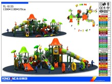 Children Outdoor playground / curved playground slide for sale /playground equipment