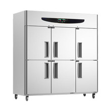 2014 unique style X series stainless steel commercial kitchen refrigerator