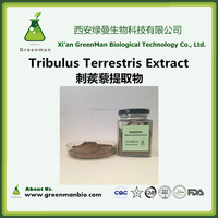Factory Supply 100% Natural Tribulus terrestris extract saponins 40% 70% 90%