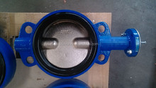 DIN Double-axis butterfly valve without pin soft seat