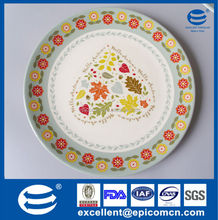 china manufacture porcelain dinnerware cake plates, cheap ceramic plates