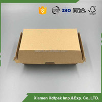 disposable flute paper clam shell box