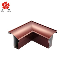 high quanlity triangle aluminum dovetail extrusion profile