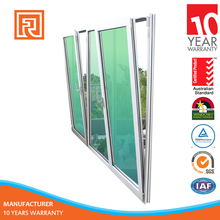 European standard Aluminum Tilt and Turn Window with double glazing