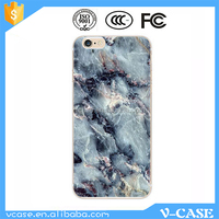 Custom Beautiful Marble Painting Hard PC TPU Phone Cover Case Stand for Nokia Lumia 520