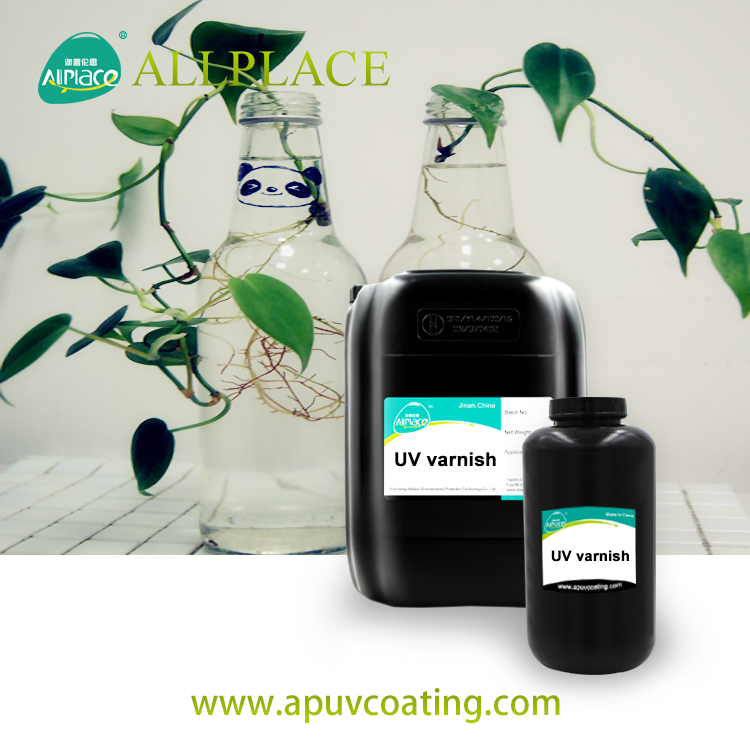 Uv Varnish Sublimation Uv Protection Coating Chemicals for Ceramic Tile / Metal and Glass Top Coat
