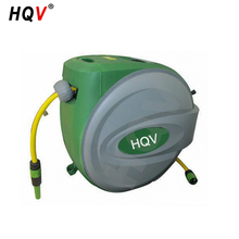 green color auto rewind hose reel water hose reel garden hose reel