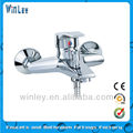 Exquisite Wall Mounted Temperature Control Shower Faucet
