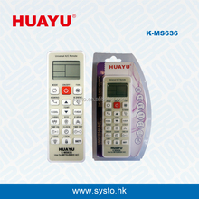 K-MS636 HUAYU remote control unversal air conditioner remote controller use for Mitsubishi A/C