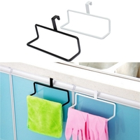 Hot Hale!! Modern Over Door Drawer Hanger Hanging Kitchen Bath Tea Towel Rail Holder Metal Lowest Price