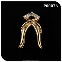 gold plated small queer jewelry pendants wholesale
