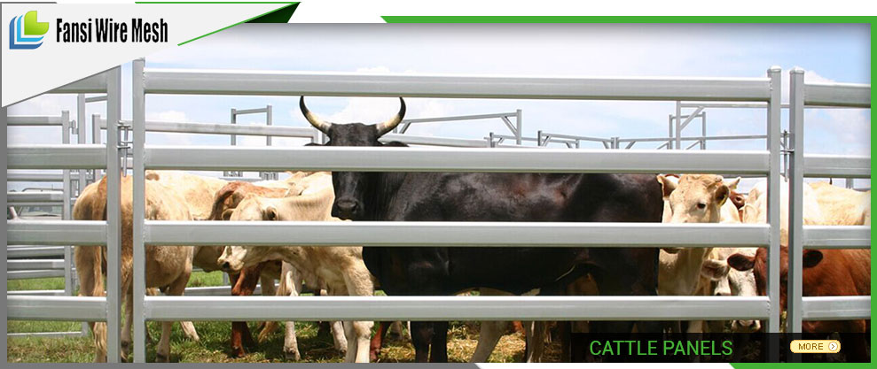 High Security FSC 1.8m X 2.4m Cheap Cattle Panels Fence (Hot Sale)
