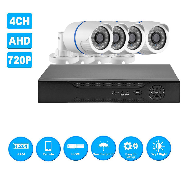 video surveilance system Network Security Camera AHD DVR Kit