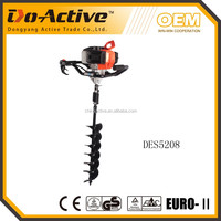 CE,EU-II certificated 52cc post hole digger