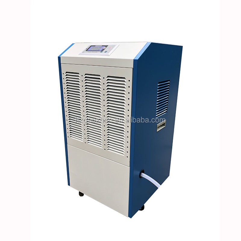 New design steel casing 150L/<strong>D</strong> industrial dehumidifier with universal wheels