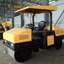 Widely Used 3 Tons Asphalt Road Roller Hydraulic Double Drum Vibratory Road Roller For Sale